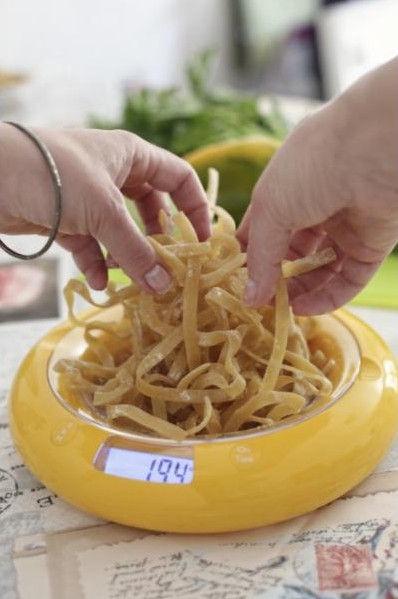 ViceVersa Kitchen Scale Buble 5kg Yellow 13021