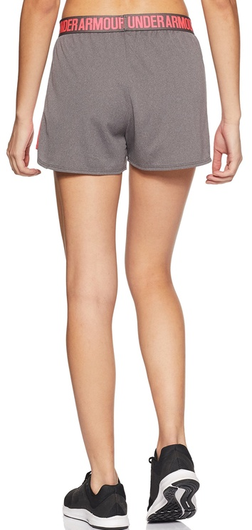 """Under Armour Shorts Play Up 3"""" 1292231-031 Gray XS"""