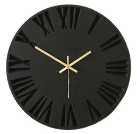 OVi Watch Wooden Wall Clock 50cm x 50cm Black