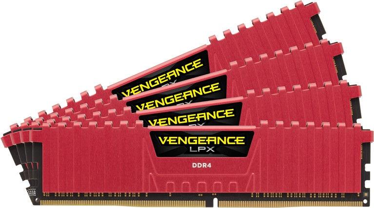 Corsair Vengeance LPX 16GB 2400MHz CL14 DDR4 DIMM KIT OF 4 CMK16GX4M4A2400C14R