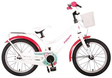 """Laste jalgratas Volare Brilliant 91663, valge, 16"""""""