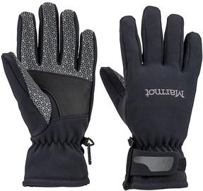 Marmot Womens Gloves Glide Softshell Black L