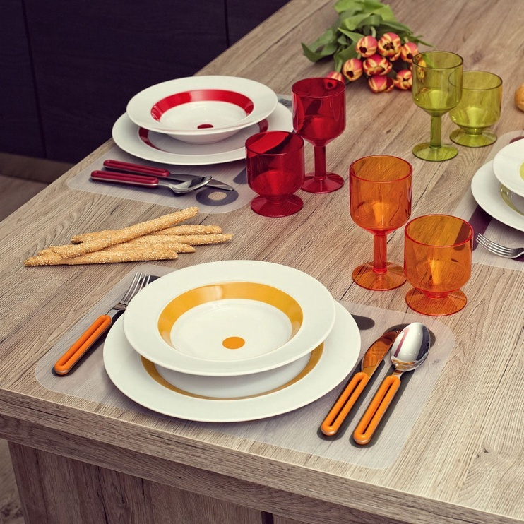 ViceVersa Offset Cutlery Set 4 Grey