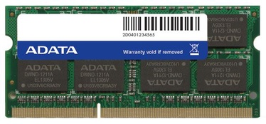 Operatiivmälu (RAM) ADATA ADDS1600W8G11-S DDR3 (SO-DIMM) 8 GB