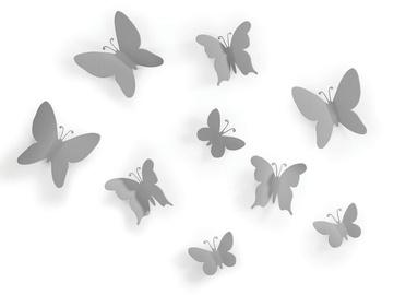 Umbra Mariposa Butterflies Wall Decor Grey