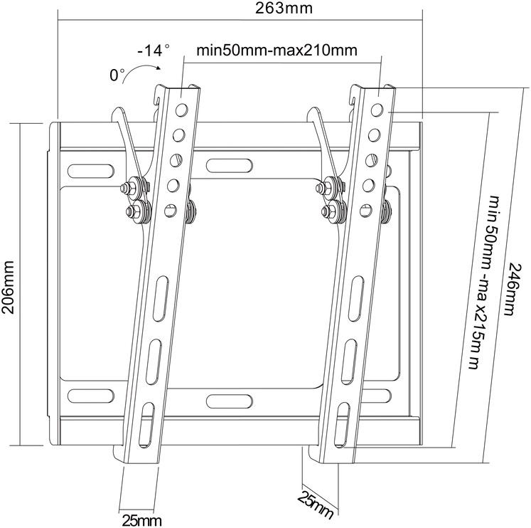 Televiisori alus (LP34-22T) (STANDART)