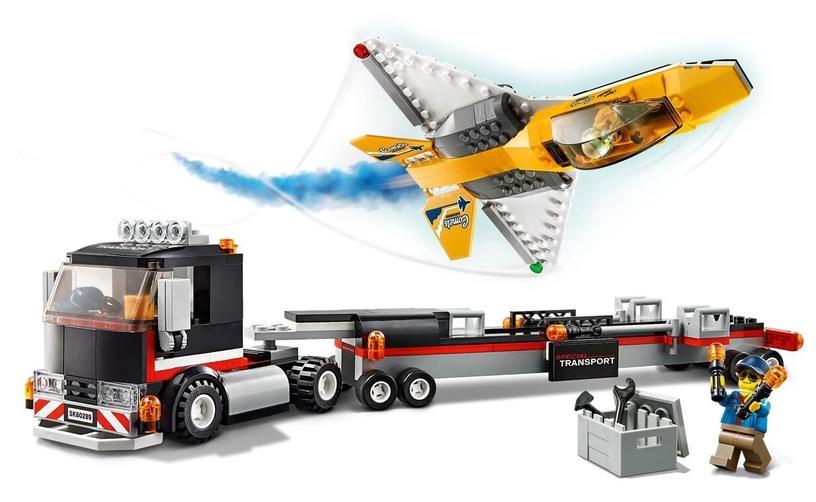KONS LEGO CITY AIRSH TRANSPORTAUTO 60289