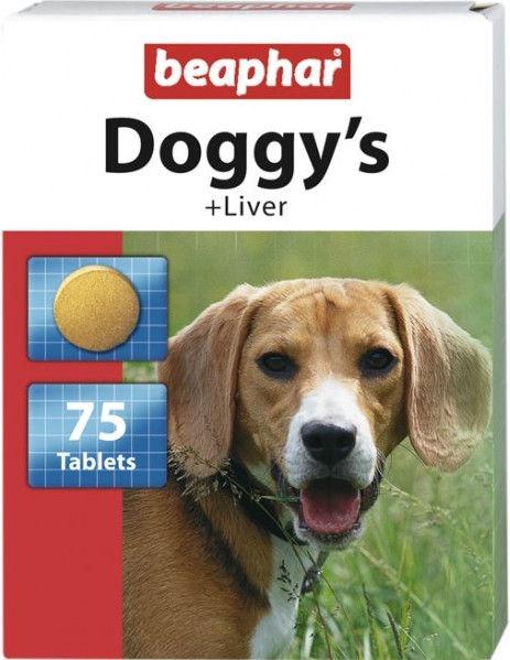 Beaphar Doggys Liver 75 Tablets