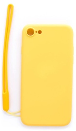 Evelatus Soft Touch Back Case With Strap For Apple iPhone 7/8 Yellow