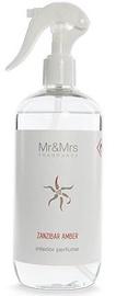 Mr & Mrs Fragrance Blanc Home Fragrance Sprayer 500ml Zanzibar Amber