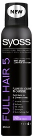 Syoss Full Hair 5 Hair Mousse 250ml