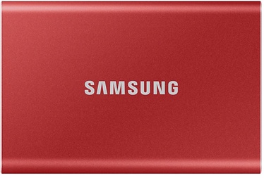 Samsung T7 Portable SSD 500GB Red