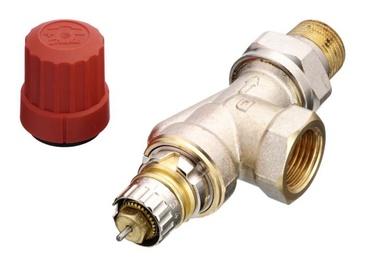 Termostatinis ventilis Danfoss RA-N 15 UK, kampinis