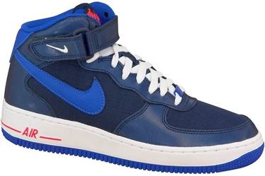 Nike Sneakers Air Force 1 Mid Gs 314195-412 Blue 38.5