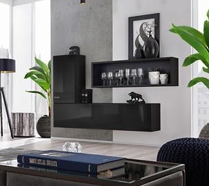ASM Blox SB IV Hanging Cabinet Set Black