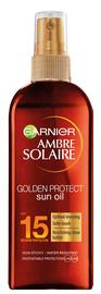 Солнцезащитное масло Garnier Ambre Solaire Golden Protect SPF15, 150 мл
