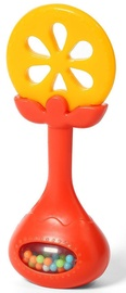 BabyOno Educational Teether With Rattle Juicy Orange