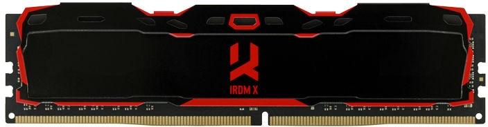 Goodram IRDM X 16GB 3000MHz CL16 DDR4 Black IR-X3000D464L16/16G