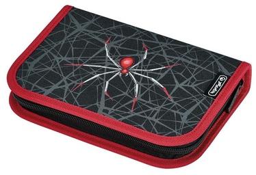 Herlitz Пенал, заполненный, 31 деталь - Spider