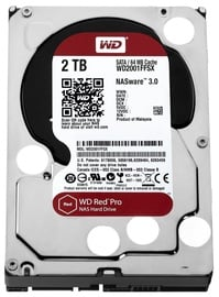 Western Digital Red Pro 2TB 7200RPM SATA 3 64MB WD2002FFSX