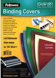 Fellowes Delta A4 FSC Binding Cover Leather Green