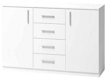 Kummut WIPMEB Tatris 03 White, 120x40x80 cm