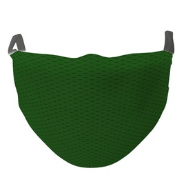 TakeMe Antibacterial 2-Layer Washable Slim Fit Face Mask /w Silver iOns Green