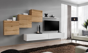 ASM Switch X Wall Unit Wotan Oak/White