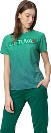 Audimas Womens Functional Tee LT Green XL