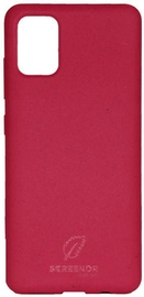 Screenor Ecostyle Back Case For Samsung Galaxy A51 Cherry Pink
