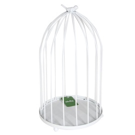 4Living Decorative Bird Cage 21x37cmWhite