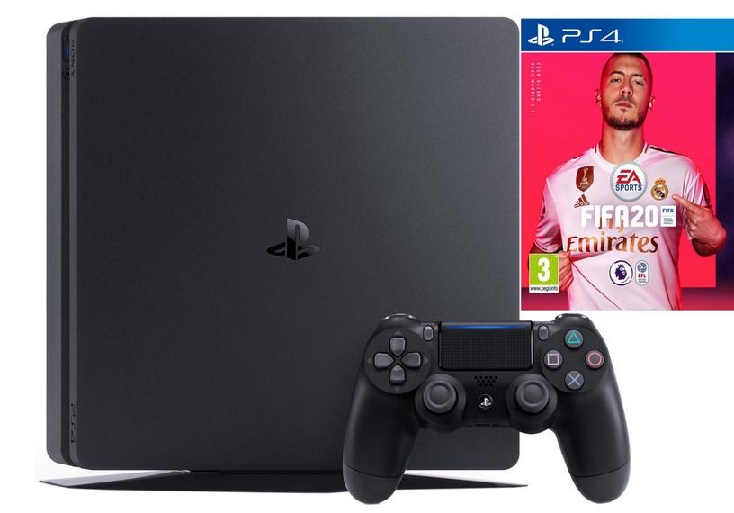 Sony Playstation 4 (PS4) Slim 1TB Black + FIFA 20