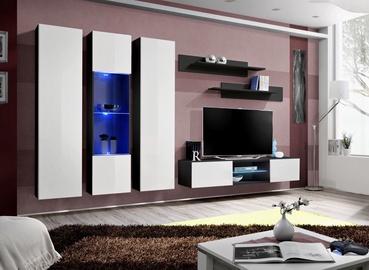 ASM Fly P5 Living Room Wall Unit Set White/Black