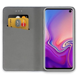 Mocco Smart Magnet Book Case For Samsung Galaxy S10 Plus Gold