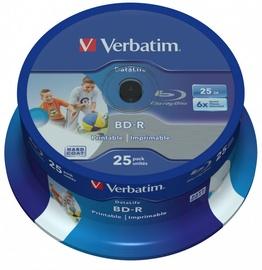 Verbatim 25x 25GB BD-R 6x 43811
