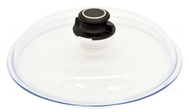AMT Gastroguss Glass Lid With Knob Ventilation 24cm