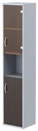 Skyland Imago Office Cabinet SU-1.4 Right Wenge Magic/Metallic