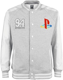 Licenced Playstation Since 94 College Jacket Grey L
