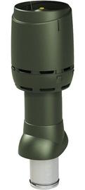 Vilpe Flow Roof Ventilation Outlet 125P/IS/500 Green