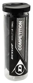 Dunlop Competition Squash Balls 3pcs