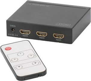 Digitus DS-48304 HDMI UltraHD Switch 3x1 Port