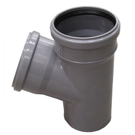 Wavin 3-Way Connector Pipe Grey 67° 110mm
