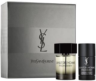 Parfüümid Yves Saint Laurent La Nuit de L Homme 100 ml EDT + 75 g Deodorant