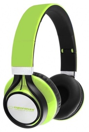 Esperanza EH159 Freestyle Audio Stereo Headphones Green