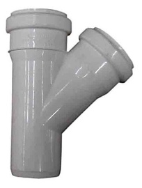 Wavin 3-Way Drain Pipe Grey 45° 50/40mm