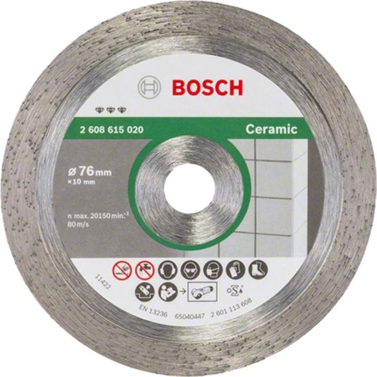Teemantketas Bosch ker.pl. D76x10x1.9 mm