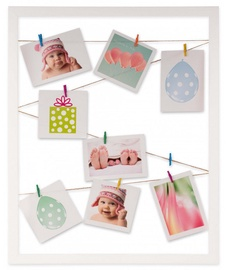 Victoria Collection Milano Polaroid Photo Frame 40x50cm White