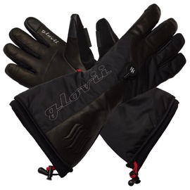 Glovii Heated Ski Gloves XL Black