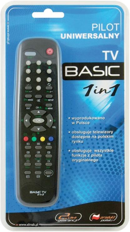 Elmak Basic 1 in 1 Universal Remote
