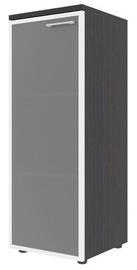 Skyland Xten Office Cabinet XMC 42.7 Left Legno Dark